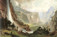 Albert Bierstadt 1865 - click for larger image